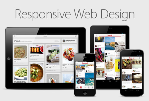 responsive web design for mobile websites